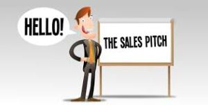 sales marketing pitch