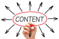 web marketing content